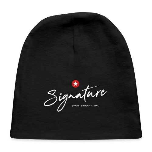 signature sportswear design t shirt - Baby Cap