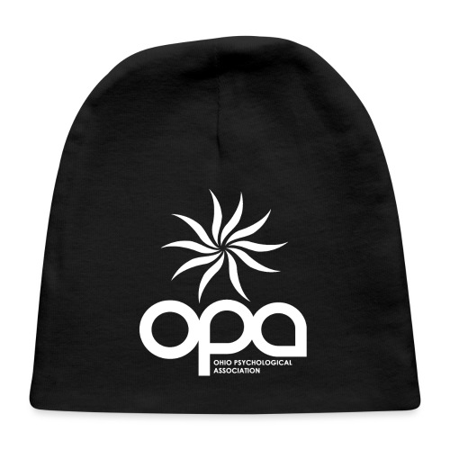 Short Sleeve T-Shirt with small all white OPA logo - Baby Cap