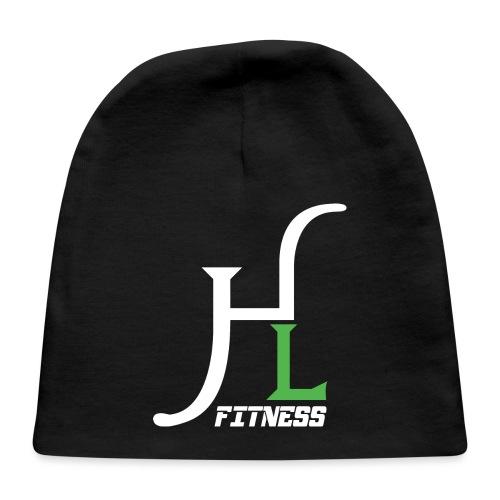 HIIT Life Fitness Logo White - Baby Cap