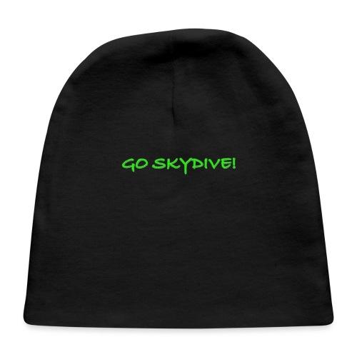Go Skydive T-shirt/Book Skydive - Baby Cap