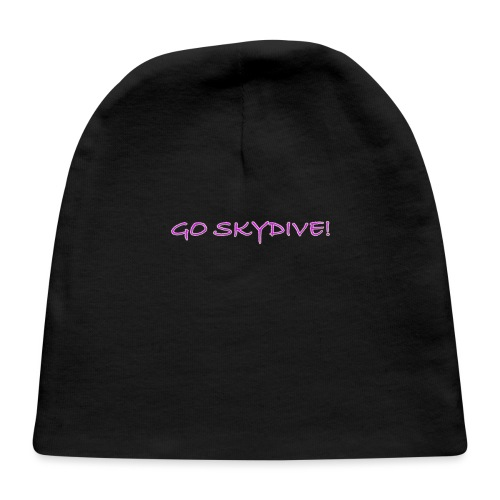Go Skydive T-shirt/BookSkydive - Baby Cap