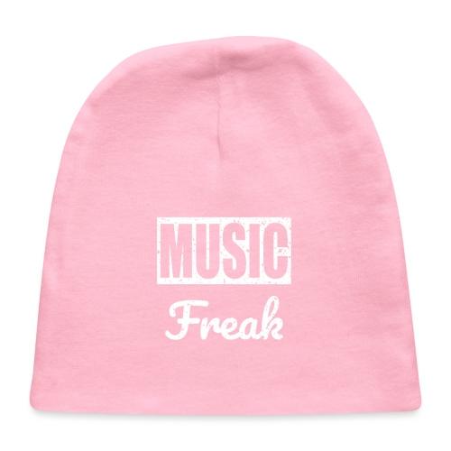 Music Freak T-Shirt - for all music lover - Baby Cap