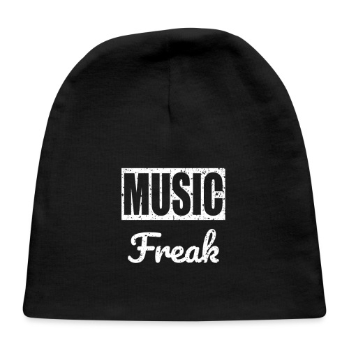 Music Freak T-Shirt - for all music lover - Baby Cap