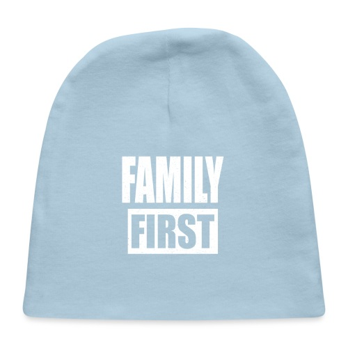 FAMILY FIRST T-SHIRT [MATCHING CLOTH/OUTFIT] - Baby Cap