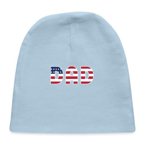 DAD + US Flag - Baby Cap