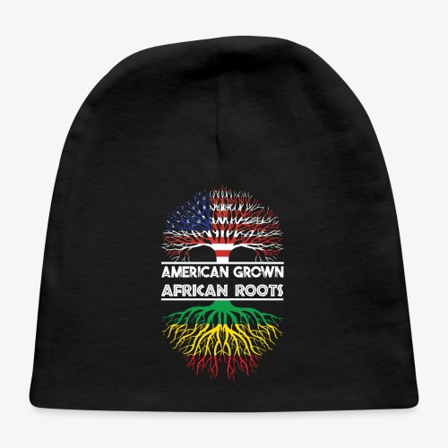 American Grown With African Roots T-Shirt - Baby Cap