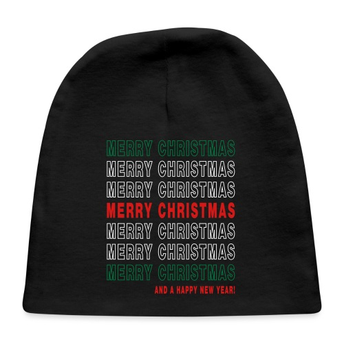 Merry Christmas Thank You - Baby Cap