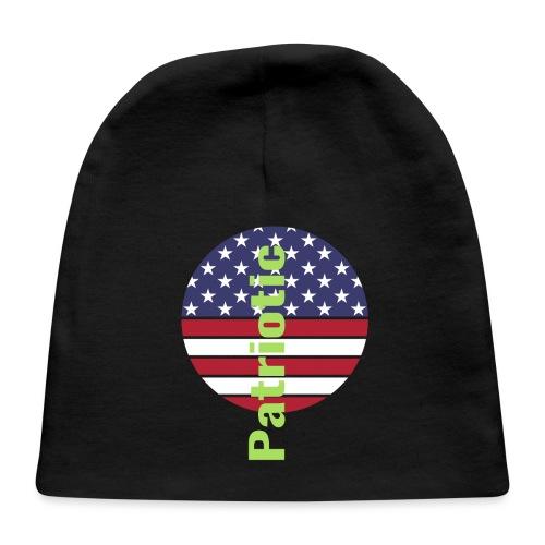 Amerincan patriotic flag - Baby Cap
