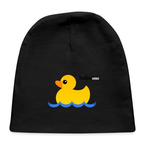 Hubs Duck - Wordmark and Water - Baby Cap