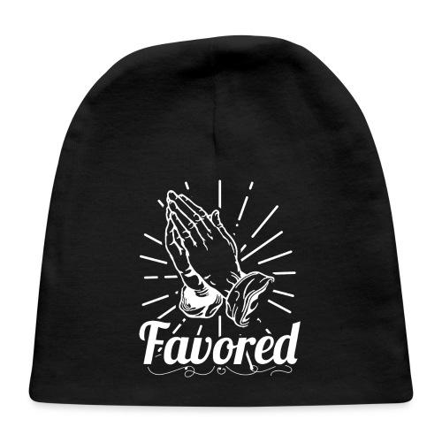 Favored - Alt. Design (White Letters) - Baby Cap
