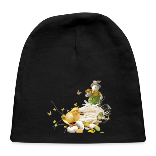 easter bunny easter egg holiday - Baby Cap