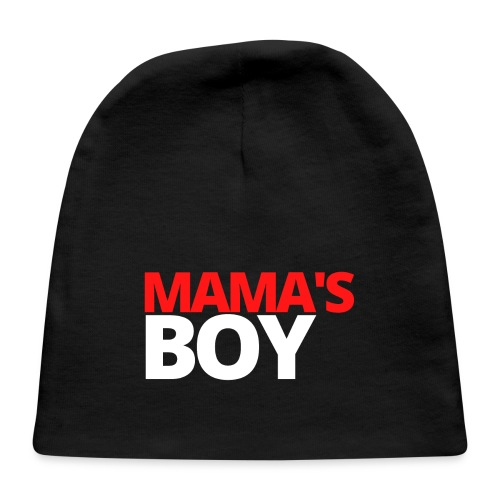 MAMA's Boy (in red & white letters) - Baby Cap
