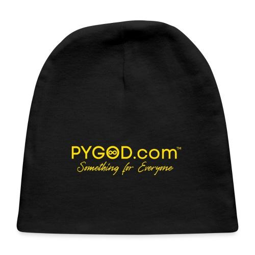 PYGOD.com™ Something for Everyone (black box logo) - Baby Cap