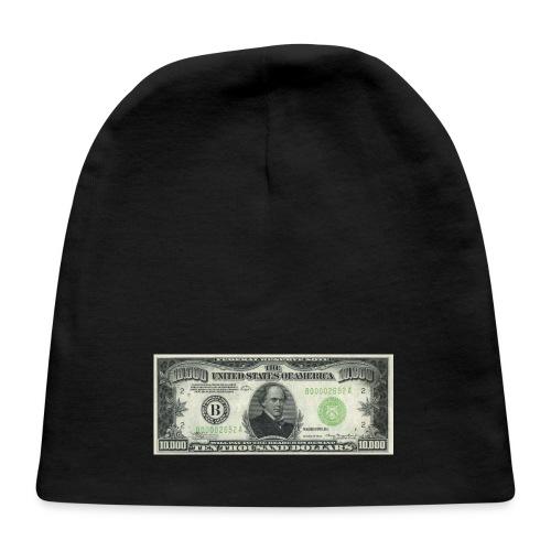 Money as Art - 10,000 Dollar Bill USD - Baby Cap