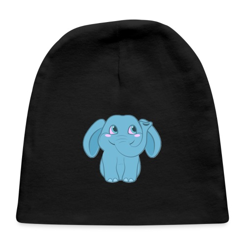 Baby Elephant Happy and Smiling - Baby Cap
