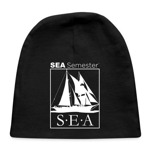 SEA_logo_WHITE_eps - Baby Cap