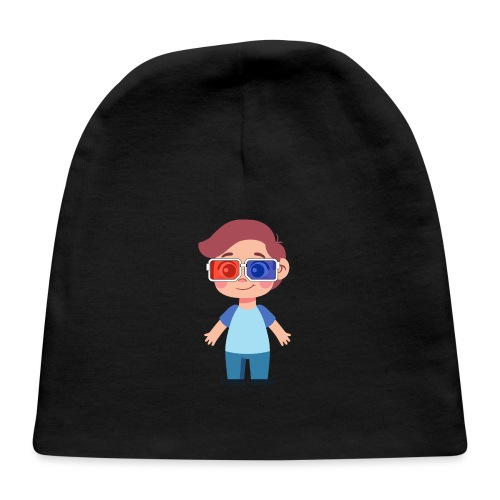 Boy with eye 3D glasses - Baby Cap