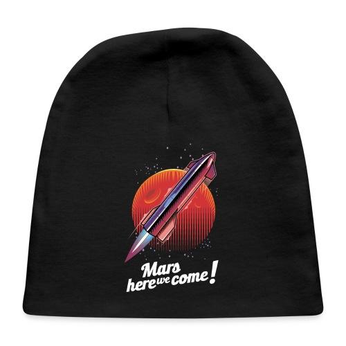 Mars Here We Come - Dark - Baby Cap