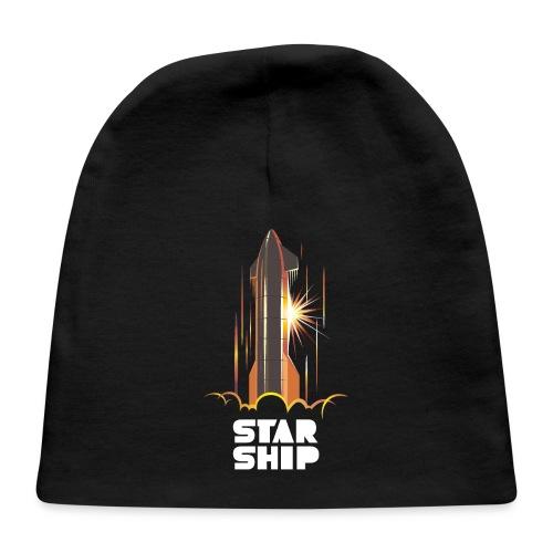 Star Ship Mars - Dark - Baby Cap