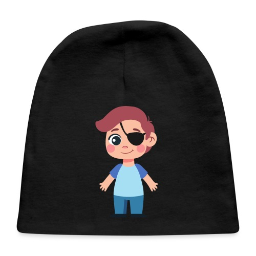 Boy with eye patch - Baby Cap
