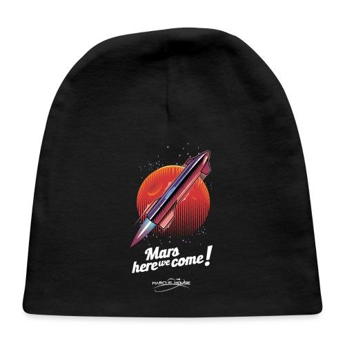Mars Here We Come - Dark - With Logo - Baby Cap