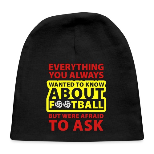 Every thing about football - Baby Cap