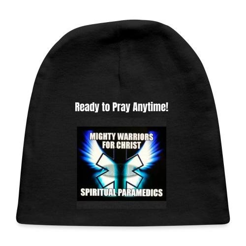 MightyWarrior PrayAnytime White - Baby Cap