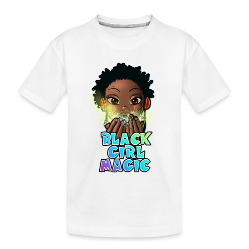 Black Girl Magic - Toddler Premium Organic T-Shirt