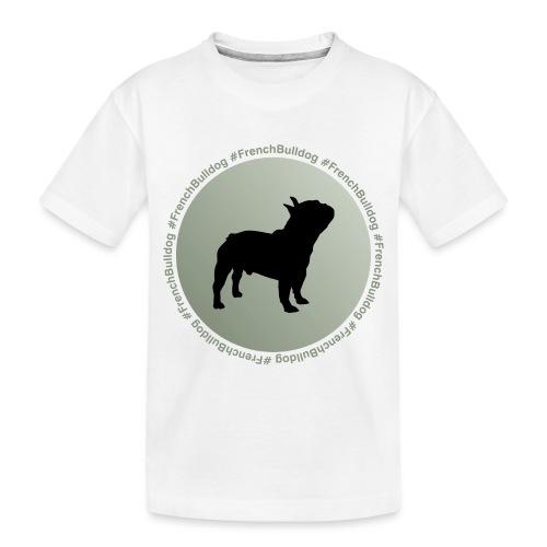 French Bulldog - Toddler Premium Organic T-Shirt