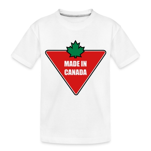 Made in Canada Tire - Toddler Premium Organic T-Shirt