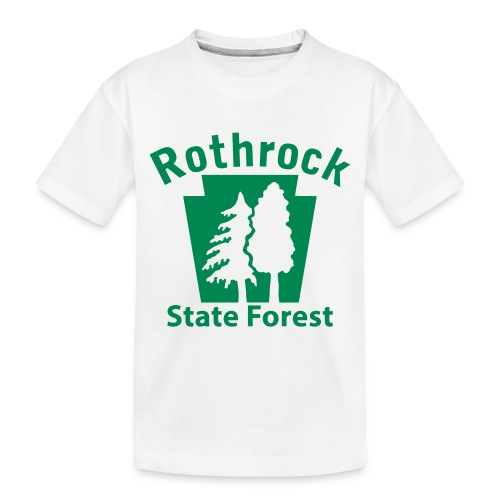 Rothrock State Forest Keystone (w/trees) - Toddler Premium Organic T-Shirt