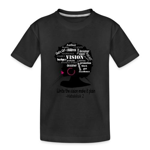 Vision - Toddler Premium Organic T-Shirt
