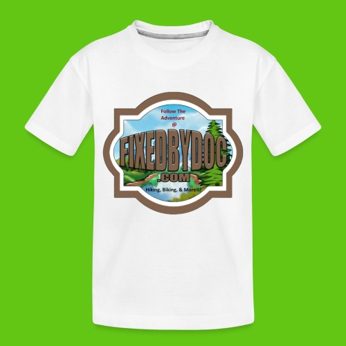 New FBD logo with words and clear background - Toddler Premium Organic T-Shirt