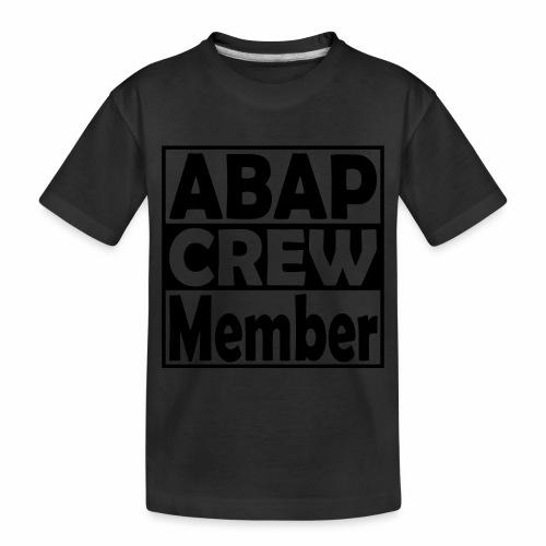 ABAPcrew - Toddler Premium Organic T-Shirt