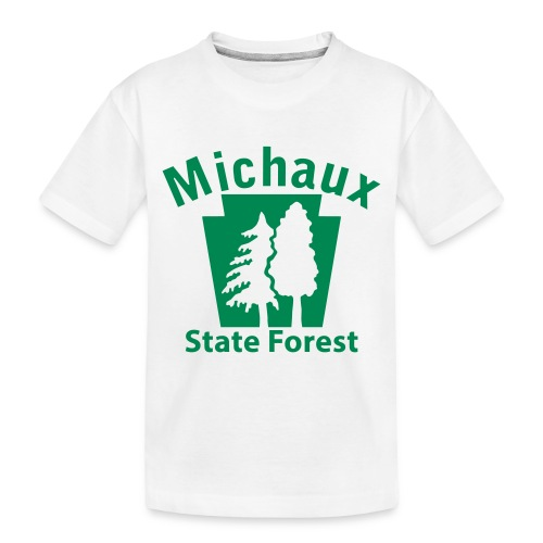 Michaux State Forest Keystone (w/trees) - Toddler Premium Organic T-Shirt