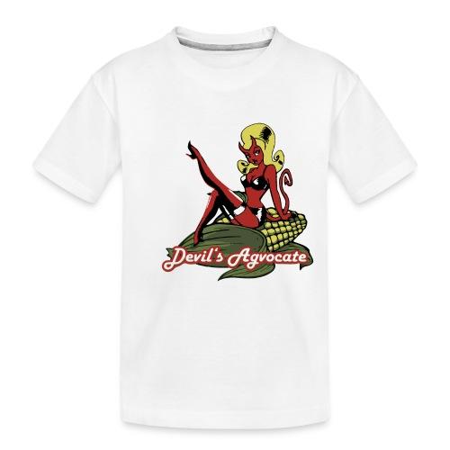 Devil's Agvocate - Toddler Premium Organic T-Shirt