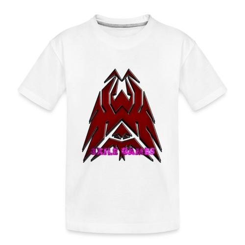 3XILE Games Logo - Toddler Premium Organic T-Shirt