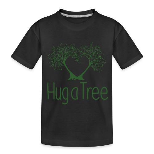 hugatree png - Toddler Premium Organic T-Shirt