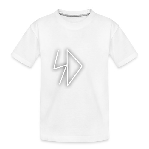 Sid logo white - Toddler Premium Organic T-Shirt