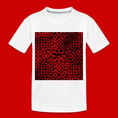 Detailed Chaos Communism Button - Toddler Premium Organic T-Shirt