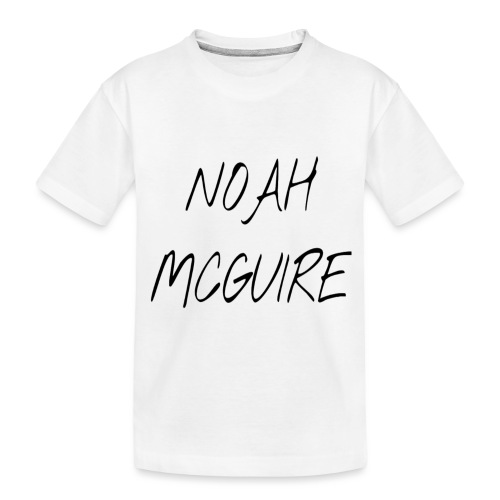 Noah McGuire Merch - Toddler Premium Organic T-Shirt