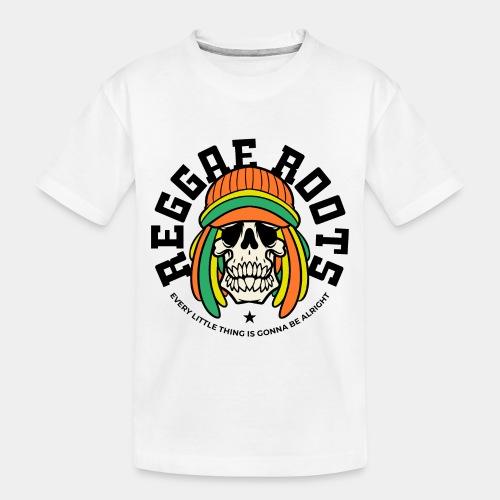 reggae music roots jamaica - Toddler Premium Organic T-Shirt