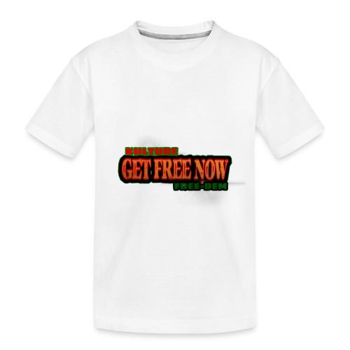 The Get Free Now Line - Toddler Premium Organic T-Shirt