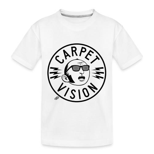 Carpet Vision final png - Toddler Premium Organic T-Shirt