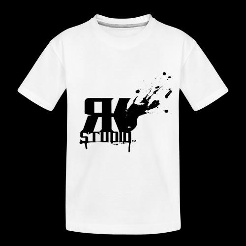 RKStudio Black Version - Toddler Premium Organic T-Shirt