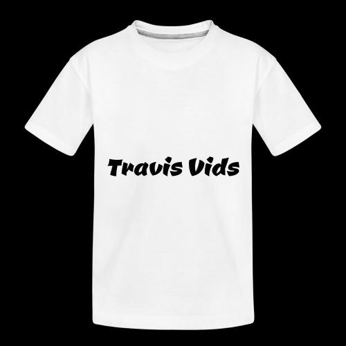White shirt - Toddler Premium Organic T-Shirt