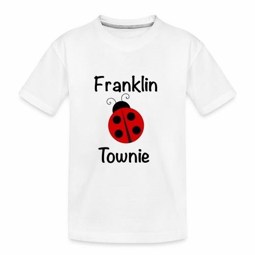 Franklin Townie Ladybug - Toddler Premium Organic T-Shirt