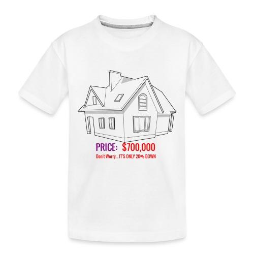 Fannie & Freddie Joke - Toddler Premium Organic T-Shirt