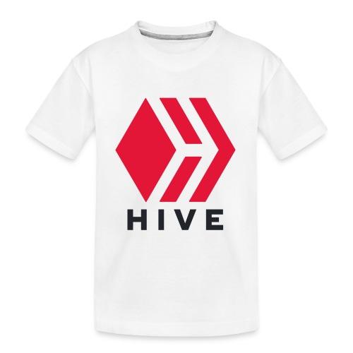 Hive Text - Toddler Premium Organic T-Shirt
