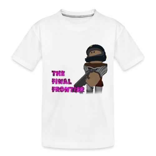 The Final Frontier - Toddler Premium Organic T-Shirt